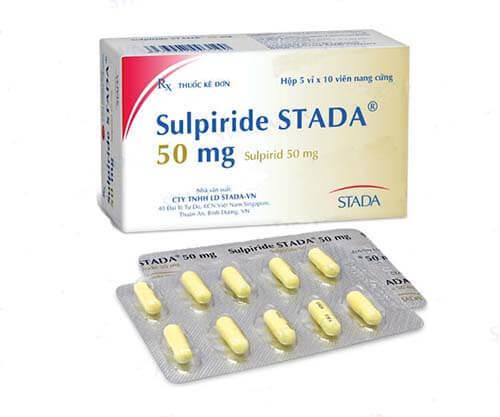 Thuốc Sulpride Stada 50mg