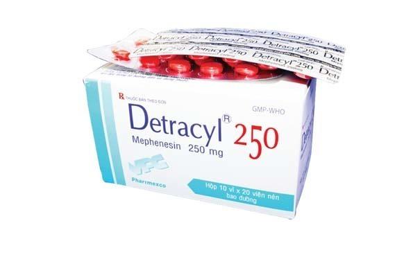 Thuốc detracyl 250 là thuốc gì