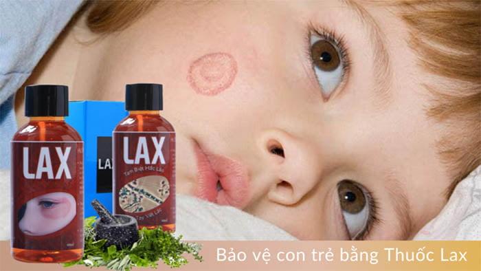Thuốc Lax trị hắc lào